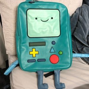 BMO adventure time backpack hot topic cartoon